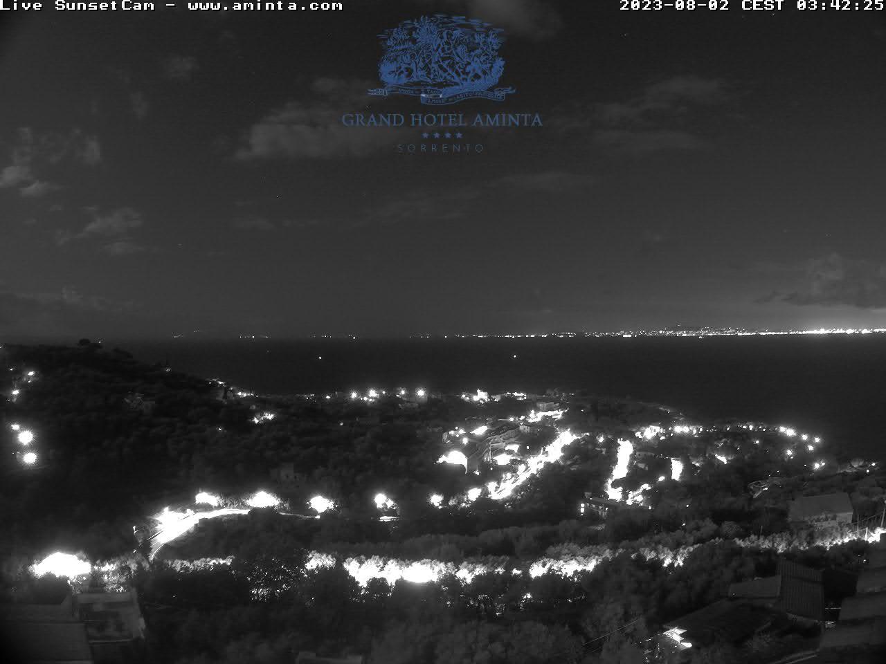 Webcam Sorrento sunset - Grand Hotel Aminta